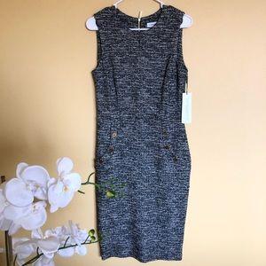 NWT Calvin Klein Black Dress size 8